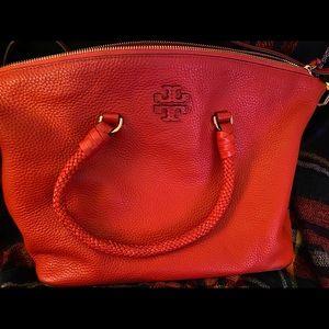 Red Tory Burch shoulder bag